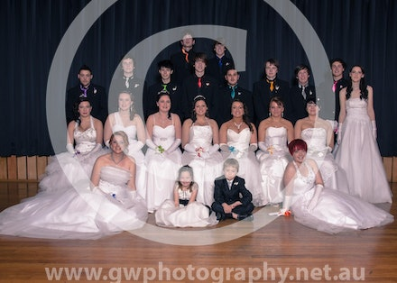 Wonthaggi Spring Debutante Ball - Group photos, rehearsal photos, Evening photos