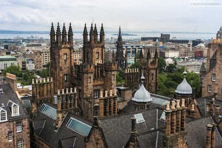 Edinburgh Skyline - I was fortunate enough to be selected in an ADF contingent to perform at the 2012 Royal Edinburgh Military Tattoo. We performed almost...