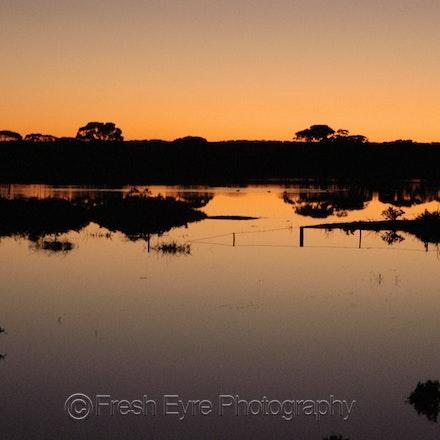 07BR12_017_Kerri Cliff - Barna Dam at sunset