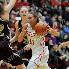 Chesterton vs. Crown Point (Girls) - 1/22/16 - Crown Point defeated Chesterton 51-39 on Friday evening (1/22) in Crown Point.  Hannah Albrecht led the...