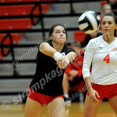 Valpo vs. Crown Point - 9/29/16 - Crown Point was a three set winner over Valpo on Thursday evening (9/29) in Crown Point.  Scores were 25-16, 25-21, 27-25....
