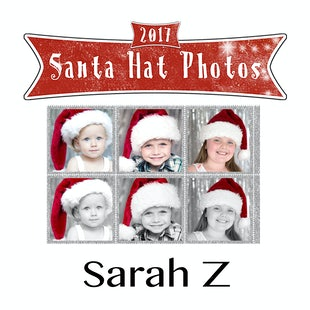 Santa Hat Photos - Sarah Z