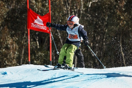 140829_sx_8363 - NSW State Championships-  skier cross race at Thredbo, NSW (Australia) on August 29 2014. Jan Vokaty