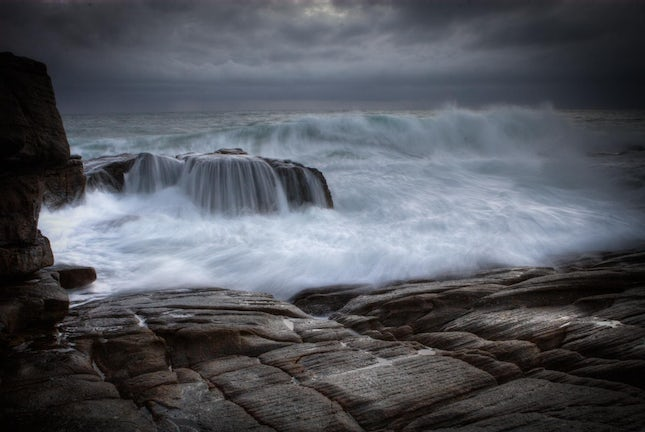 The onslaught.. - Coolum, Queensland, Australia.