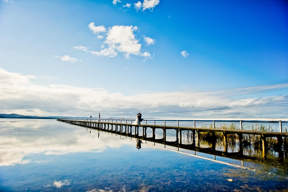 005 | Long Jetty. The water was so smooth it was like a mirror - Copyright © 2015 Melissa Fiene Photography. All rights reserved. All images created by...