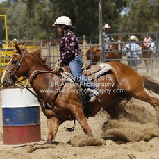 Finley Rodeo - Junior Barrel Race - Slack 1