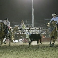 Whittlesea Rodeo - Team Roping - Sect 3
