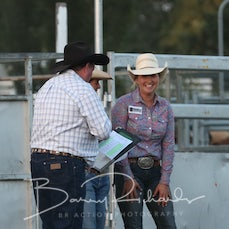 Buckle Presentation - Open Barrel Race - Elley Hulls