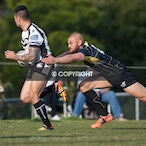 Asquith Magpies v Mounties 140713 - While the Sydney Shield side lost heavily to a fast-finishing Mounties side, the RMC squad fought out a thrilling 30-all...
