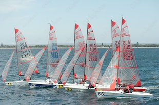 2015 Tasar World Championships Busselton Day 3 Race 4 cont
