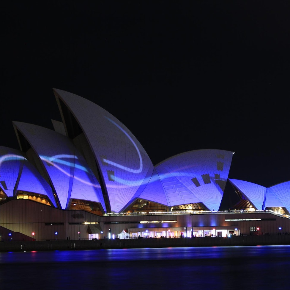 SYDNEY - Creativity by the Lens in Long Exposures:  Modern Architecture continues to inspire photographers, artists and the public alike. Light projections...