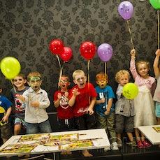 Arran's 4th birthday - Arran's BIG M 4th birthday and friends