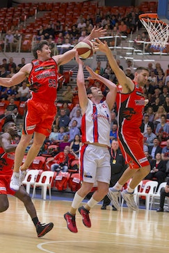 Wildcats v SBL Allstars 8 - Wildcats defeated the State Basketball League All Stars at BWA Stadium