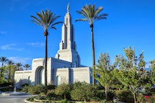 LDS Temples day photos