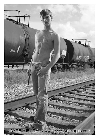 AL206608 - Signed Male Fashion Photo Art by Jayce Mirada