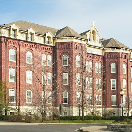 St. Joesph Hall, University of Dayton_2436_2202 - Photos by Campus Photos USA.(Color Photo)) This is St, Joseph Hall, University of Dayton, Dayton, OH,...