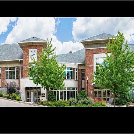 12x24.Marianist Hall University of Dayton Bookstore_UD_1632 - Photo by Campus Photos USA. The Marianist Hall at the University of Dayton, houses the university...