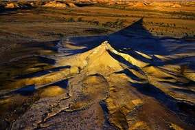 Painted Desert_44924 - Aerial view of Painted Desert, Arckaringa, SA, Australia
