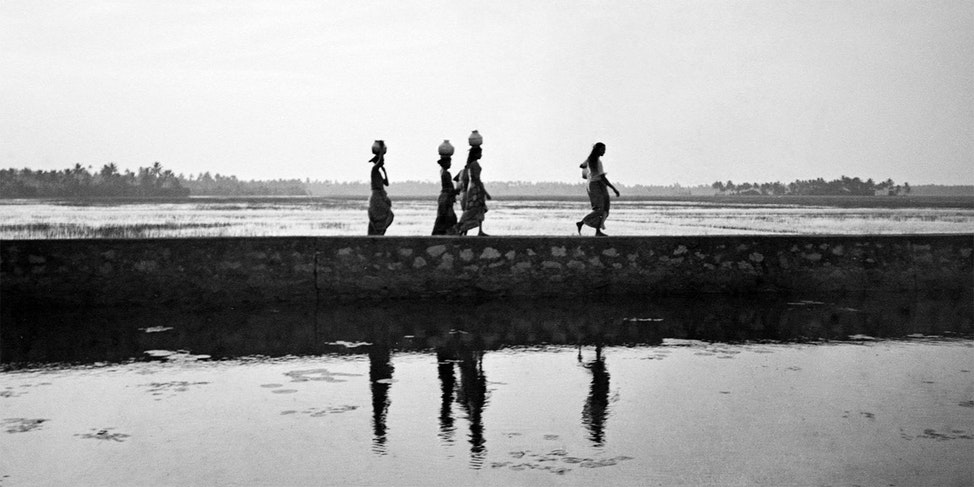 Women of the Backwaters, Kerala, India
