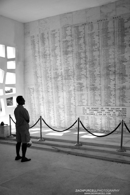 Paying Respect - Location: Pearl Harbor