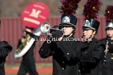 Madison & Millburn bands - Madison Band and Millburn Band and Cheerleaders on Turkey Day