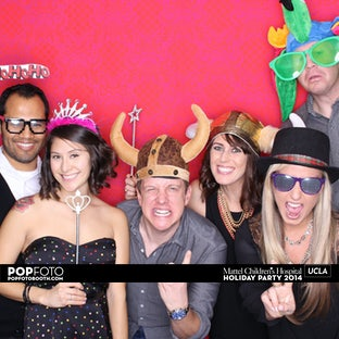 Mattel Children's Hospital UCLA -  Holiday Party 2014
