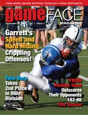 gameFACE Magazine Cover 8X10