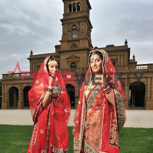 Brides of Asia - South Asian wedding show at Werribee Park. Pictures: Damjan Janevski
