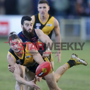 BFL, Kyneton vs Sandhurst - BFL, Kyneton vs Sandhurst. Pictures Shawn Smits