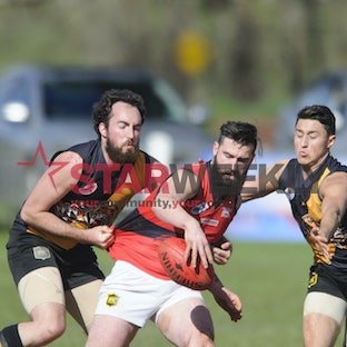 RDFL: Lancefield v Romsey - Pictures by Shawn Smits