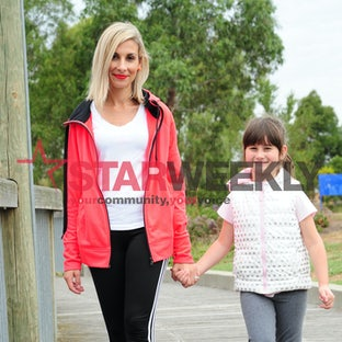Mother and daughter ready to walk the talk - Photos: Dennis Manktelow