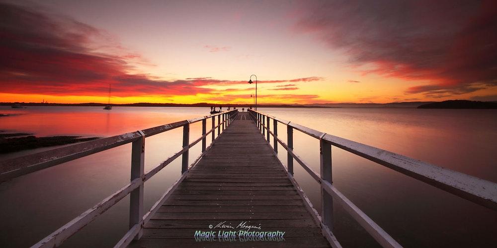 Murrays Beach Sunset 05 Oct 2013 IMG_9977 1680 panorama
