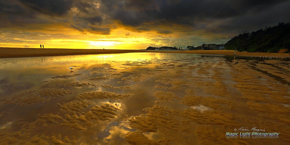Terrigal Lagoon Sunrise 07 Feb 2015 IMG_0053 1500 panorama