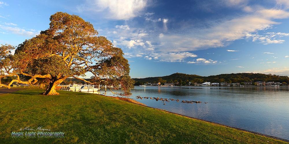 Davistown Waterfront 30 APR 2016 IMG_2786 1500 panorama