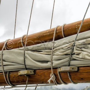 Ships and Rigging - Images of the textures of wooden spars, sails, andrigging