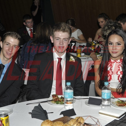 151120_SR27466 - Tyson janke, Josh sands, kaitlyn Horne at the Longreach State High School formal, Friday November 20, 2015.  sr/Photo by Sam Rutherford