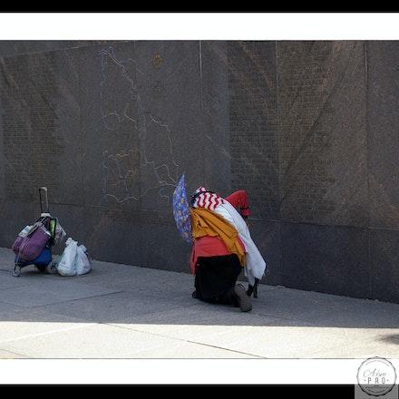 Homeless lady's prayer