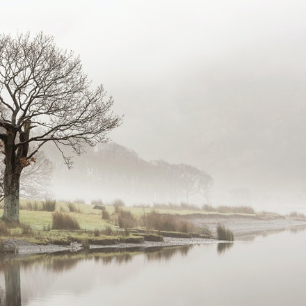 Misty start at Crummock